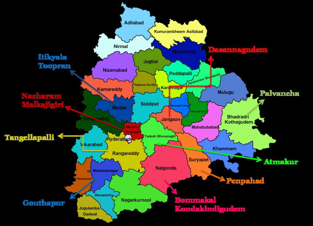 Shining Stars Map